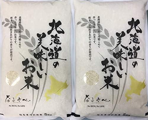 無洗米 北海道上川産 ゆめぴりか 令和元年産 10k(5kg×2袋)
