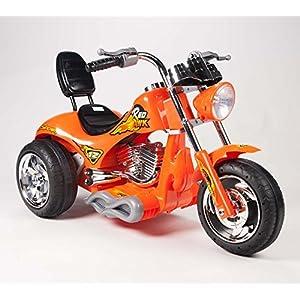 Kids-12V-Red-Hawk-Motorcycle-in-Orange