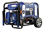 Ford 7,750W Dual Fuel Portable Generator with Switch & Go Technology and Electric Start, FG7750PBE
