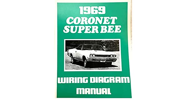 1969 dodge coronet \u0026 super bee factory electrical wiring diagrams 1969 Dodge Coronet