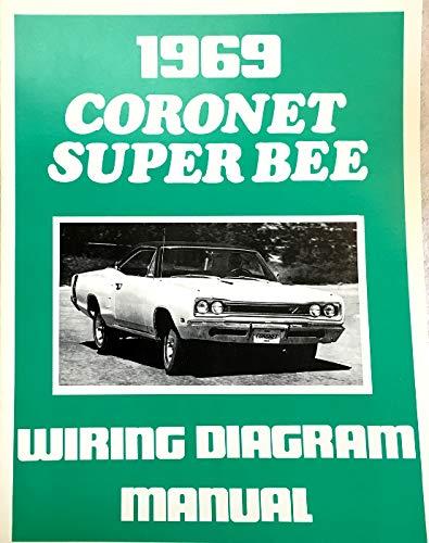 1969 dodge coronet & super bee factory electrical wiring diagrams &  schematics: dodge chrysler: amazon.com: books  amazon.com