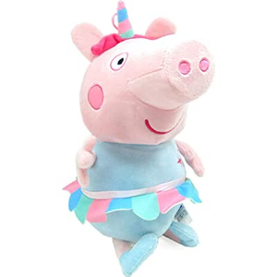 "EONE Peppa Pig Unicorn Plush 13.5"" Plush: Toys & Games"