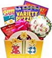 Thinking of You Gift Basket for Women with Three Boredom Busting Puzzle Books and Snack