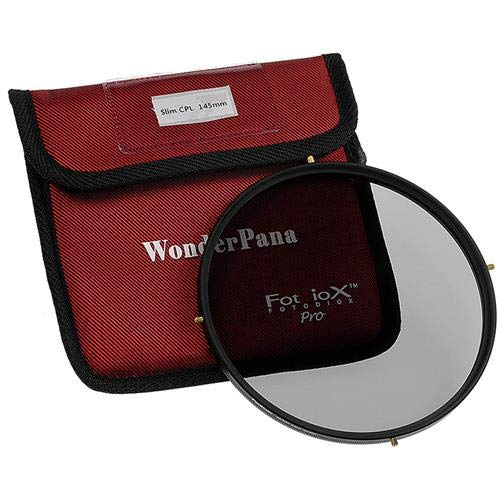 Fotodiox 145mm Slim Circular Polarizer Filter for WonderPana 145 and 66 Systems by Fotodiox