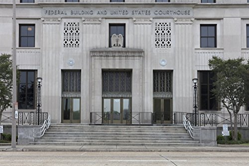 Photograph| Exterior. Federal Building & U.S. Courthouse in Baton Rouge, Louisiana 1 Fine Art Photo Reproduction 44in x ()