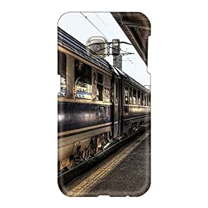 Shock-Absorbing Hard Phone Cases For Samsung Galaxy S6 (TgL10199tifl) Customized Trendy A Train About To Leave The Station Hdr Pictures