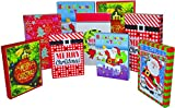 Christmas Gift Boxes - 9 Pack - High Quality Assorted Sizes Gift Box Set Great for the Holidays - 3 Sizes Large (Robe), Medium (Shirt) Small (Lingerie)