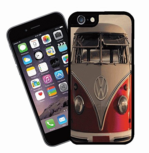VW Camper van - This cover will fit Apple model iPhone 7 (not 7 plus) - By Eclipse Gift Ideas