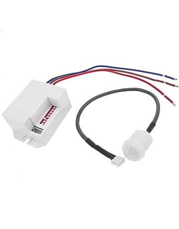 Cablematic - Detector de movimiento por infrarojos de techo empotrable mini