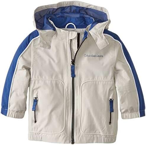 Calvin Klein Baby Boys' Max Capacity Water Resistant Shell Jacket