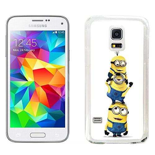Cattivissimo me film caso si adatta samsung galaxy s5 mini sm-g800f copertina rigida (29) di protezione per il telefono despicable minions cover mobile case