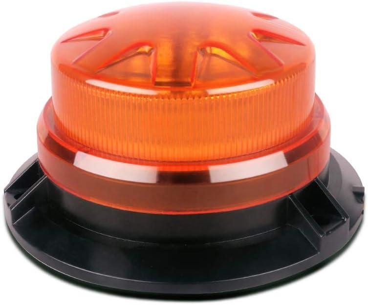 Magic 12V LED Strobe Beacon Emergency Alarm Warning Flashing Light Signal Lamp W