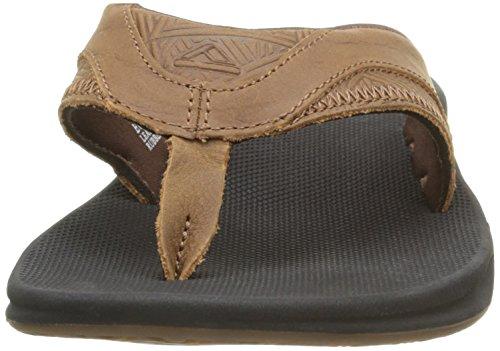 Reef Leather Fanning - Sandalias Hombre Marrón (Brown Tweed)