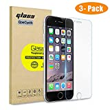 [3-Pack] Screen Protector for iPhone 8 Plus / 7 Plus / 6S Plus / 6 Plus - HD Tempered Glass Protective Film, Anti-Fingerprint Anti-Scratch for Apple iPhone 5.5 Inch