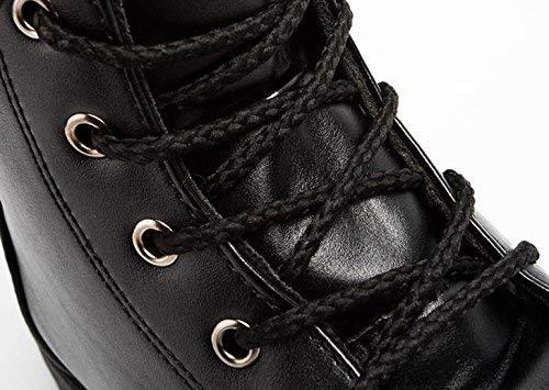 Fuxitoggo Männer Casual Gang Gang Gang Trend Winter Teen Wasserdichte Stiefel (Farbe   EU 40, Größe   Schwarz) 4f3d5c