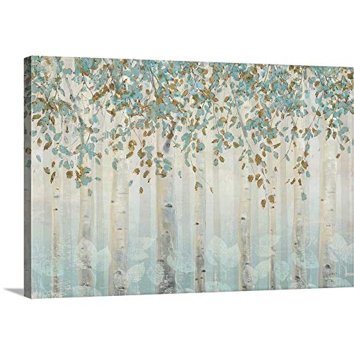 "James Wiens Premium Thick-Wrap Canvas Wall Art Print Entitled Dream Forest I 48""x32"""