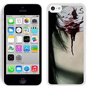 Beautiful And Unique Designed With Girl Person Bandage Blood Piercing (2) For iPhone 5S Phone Case