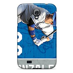 Hard Protect Phone Case For Samsung Galaxy S4 (JcW11872VeJd) Allow Personal Design Beautiful Los Angeles Dodgers Pattern