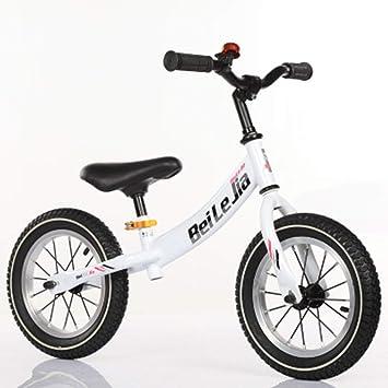 52d93b9a6 DDCX 12 Pulgadas de Equilibrio de los niños Scooter Coche 1-3-6 años de  Edad Bicicleta niño Cochecito de Dos Ruedas yo Coche sin Deslizamiento de  Pedal ...