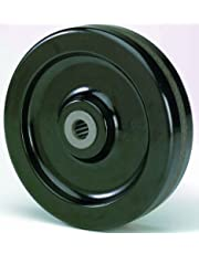 RWM Casters Phenolic Wheel with Straight Roller Bearing 1400 lbs Capacity