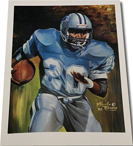 Barry Sanders UNSIGNED 18