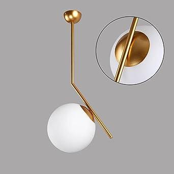 Fantastisch Moderne Designer Pendelleuchte Milch Weiß Glas Globo Kugel Lampenschirm  Dekorative Hängelampe Loft Elegante Leuchten Eiserne Malerei