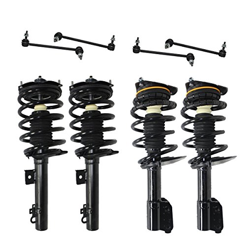 Sedan Models (Detroit Axle - All Front & Rear Driver & Passenger Side [Sedan Models Only] Complete Strut & Spring Assembly with (4) Sway Bar End Links)