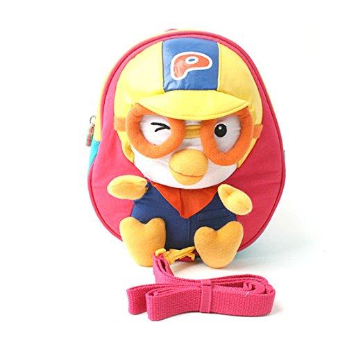 Pororo Toy Character kids Backpack Bag - Pink B00G5IHPA4
