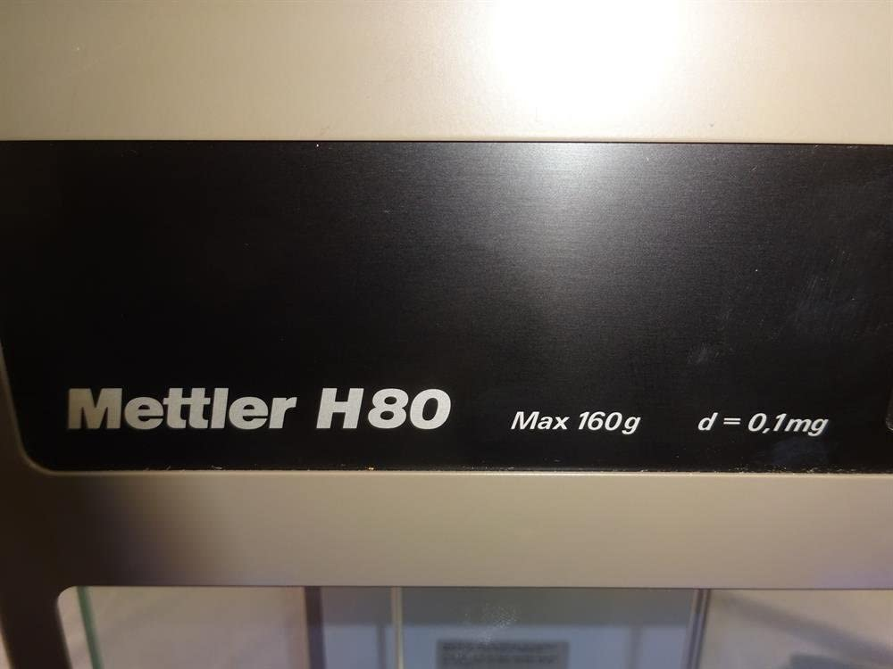 Amazon.com: Mettler H80 Analytical Balance lab Scale ...