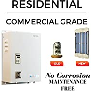 Supergreen IR6000 Infrared Electric Tankless Water Heater. House 1+ bath/Hydronic Heating. Max 4.4 gpm, 14kW at 240v, 58.4 amps with Coilless Technology using Quartz. No Corrosion and No Maintenance.
