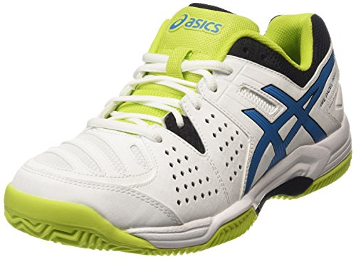 ASICS - Gel-padel Pro 3 Sg, Zapatillas de Tenis hombre Blanco (white/methyl Blue/lime 0142)