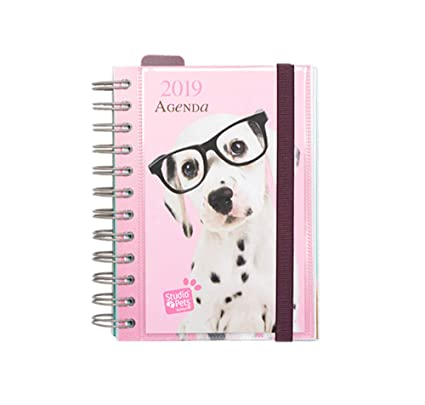 Grupo Erik Editores AGEDP1912 - Agenda anual 2019 con diseño Studio Pets Dog, día pagina