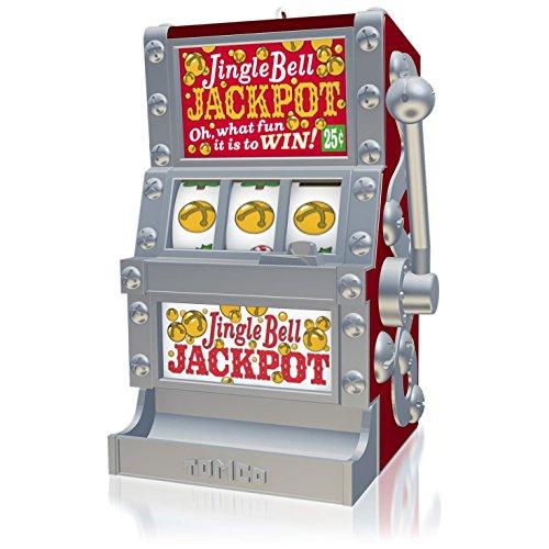 Jingle Bell Jackpot Slot Machine Ornament 2015 (Casino Ornaments)