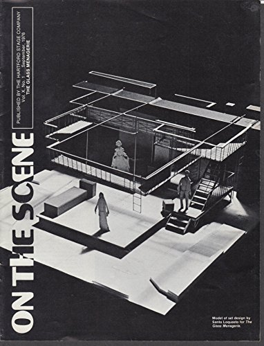 Hartford Stage ON THE SCENE VXn1 9 1976 Tennessee Williams Glass Menagerie ()