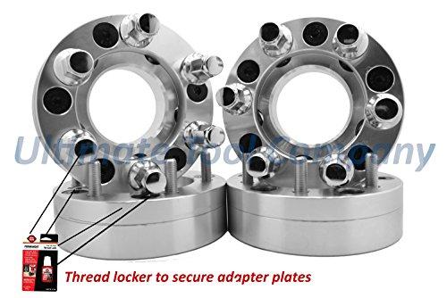 UTC 4 Pc Ford 5x135 to 6x135 5 Lug to 6 Lug Conversion Adapters 2