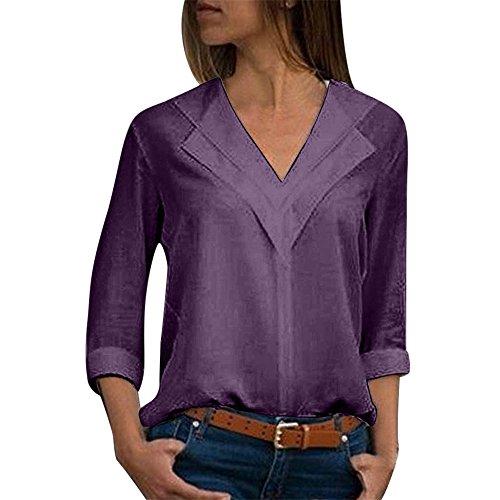 iQKA Women Plus Size Solid Chiffon Blouse Peter Pan Collar Shirt Long Sleeve Work (Mesh Silk Blouse)
