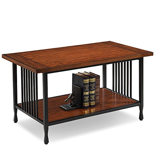 Wood Mission Coffee Table (Leick 11203 Ironcraft Coffee Table)
