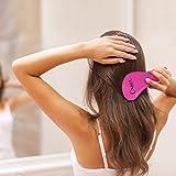 Detangling Brush Glide Thru Detangler Hair Comb Or Brush No More Tangle Adults Kids Pink