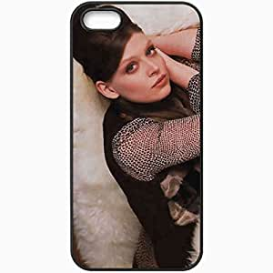 Personalized iPhone 5 5S Cell phone Case/Cover Skin Amber Benson Amber Benson Actors Black