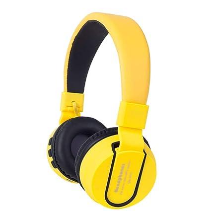 Soulitem Auriculares inalámbricos Recargables inalámbricos del micrófono de Bluetooth Auriculares Recargables para el teléfono TV Ordenador
