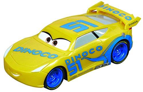 Carrera 64083 GO!!! Disney/Pixar Cars 3 Dinoco Cruz Slot Car Racing Vehicle (Best Racing Cycle In India)