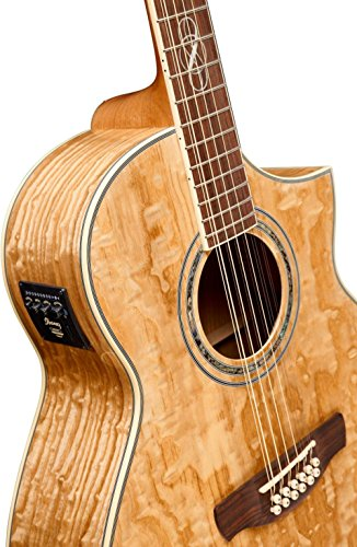 Ibanez Exotic Wood Series EW2012ASENT 12 String Acoustic Electric Guitar
