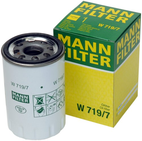 Mann-Filter W 719/7 Spin-on Oil Filter by Mann Filter