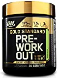 Optimum Nutrition Gold Standard Pre-Workout with Creatine, Beta-Alanine, and Caffeine for Energy, Flavor: Green Apple, 30 Servings