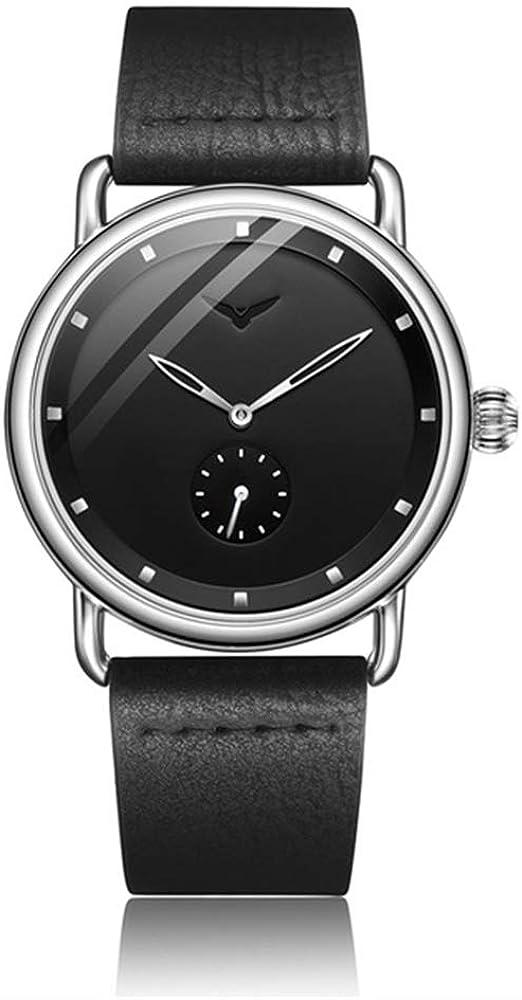 Hombres de Cuero de primeras Marcas Relojes Reloj Moda Deporte Simple Casual Impermeable Reloj de Pulsera Hombres Masculino Reloj Hombre