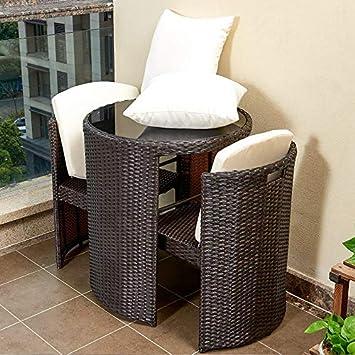 Tisch Und Stühle Für Balkon.Weave Balkon Tisch Stuhl Freizeit Rohrstuhl Teetisch