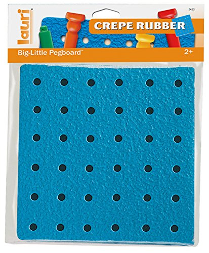 PlayMonster Tall-Stackers - Big-Little Crepe Rubber Pegboard