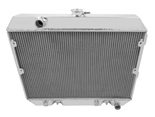 Champion Cooling, 3 Row All Aluminum Replacement Radiator for Nissan 280Z, CC634