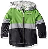 London Fog Big Boys' Chest Stripe Poly Lined Jacket, Bold Green, 14/16