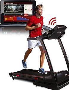 Sportstech F26 Profi Laufband mit Smartphone App Steuerung Pulsgurt im Wert...